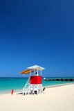 Doctor's Cave Beach Club, Montego Bay, Jamaica Royalty Free Stock Images