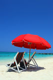 Doctor's Cave Beach, Montego Bay, Jamaica Royalty Free Stock Photography