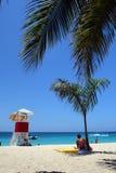 Doctor's Cave Beach, Montego Bay, Jamaica Royalty Free Stock Photo
