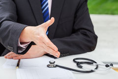 Doctor's consultation Stock Image