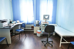 Doctor's consulting room Stock Photo