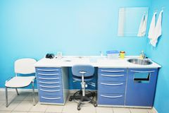 A doctor's consulting room Stock Images