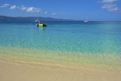 Doctor's Cove Beach in Jamaica, Caribbean. Doctor's Cove Beach in Montego Bay in Jamaica, Caribbean stock photo