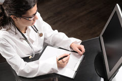 Doctor's Desk Royalty Free Stock Photography