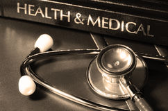 The doctor's desk. Royalty Free Stock Images