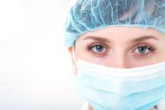 Doctor's eyes Royalty Free Stock Photography