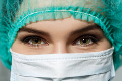 Doctor's eyes Royalty Free Stock Photos