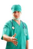 Doctor's handshake Royalty Free Stock Image