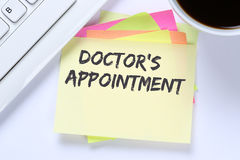 Doctor`s medical appointment doctor medicine ill illness healthy Royalty Free Stock Photography