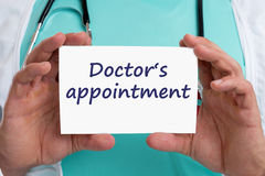 Doctor`s medical appointment doctor medicine ill illness healthy Stock Photos