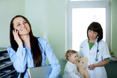 Doctor's office Royalty Free Stock Photos