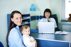 Doctor's office Royalty Free Stock Photography