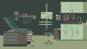 Doctor s Office Illustration. Illustration of a doctor office illustration hospital Royalty Free Stock Photography