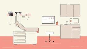 Doctor s Office Illustration vector illustration