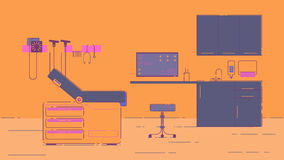 Doctor s Office Illustration stock illustration