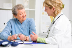 At the doctor's office Royalty Free Stock Images