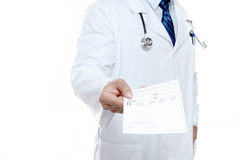 Doctor's Prescription Royalty Free Stock Photography