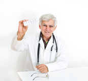 Doctor's recommendation for pills Royalty Free Stock Image