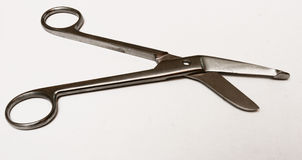 Doctor?s scissors. On operating table Stock Photos
