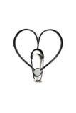 Doctor's stethoscope heart shape Stock Photo