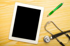 Doctor's tablet Stock Photo