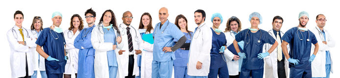 Doctor's team Stock Photography