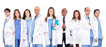 Doctor's team Stock Image