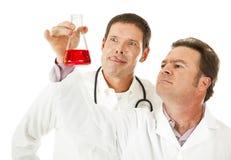 Doctor sanguinario Foto de archivo libre de regalías