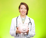 Doctor savings Royalty Free Stock Photos