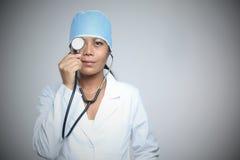 Doctor'sBlind öga Arkivbilder
