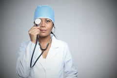 Doctor'sBlind eye stock images