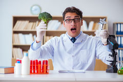 The doctor scientist receiving prize for his research discovery Stock Photos