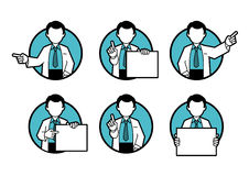 Doctor, scientist, teacher Royalty Free Stock Image