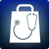 Doctor shopping Royalty Free Stock Image