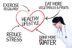 Free Doctor Showing Healthy Lifestyle Stock Images - 39728314