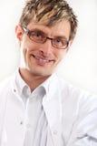 Doctor smiling Stock Photos
