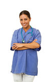 Doctor smiling Royalty Free Stock Photography