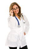 Doctor smiling Royalty Free Stock Images