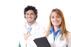 Doctor and stethoscope Stock Image