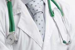 Doctor with stethoscope Royalty Free Stock Photos