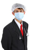 A doctor in a suit Royalty Free Stock Photo