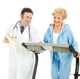 Doctor Supervised Exercise stock photography