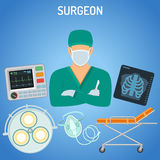 Doctor surgeon concept Stock Images
