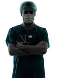 Doctor surgeon man with face mask Stock Image