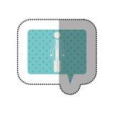 Doctor surgeon pictogram Stock Photo