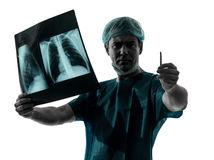 Doctor surgeon radiologist Royalty Free Stock Images