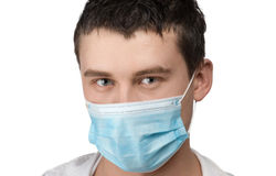 Doctor with surgical mask Stock Photos