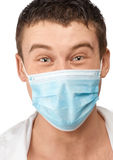 Doctor with surgical mask Royalty Free Stock Photography