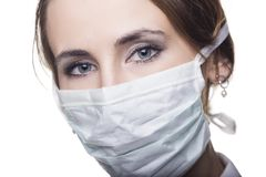 Doctor in surgical mask Royalty Free Stock Images