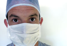 Doctor in surgical mask Royalty Free Stock Photo